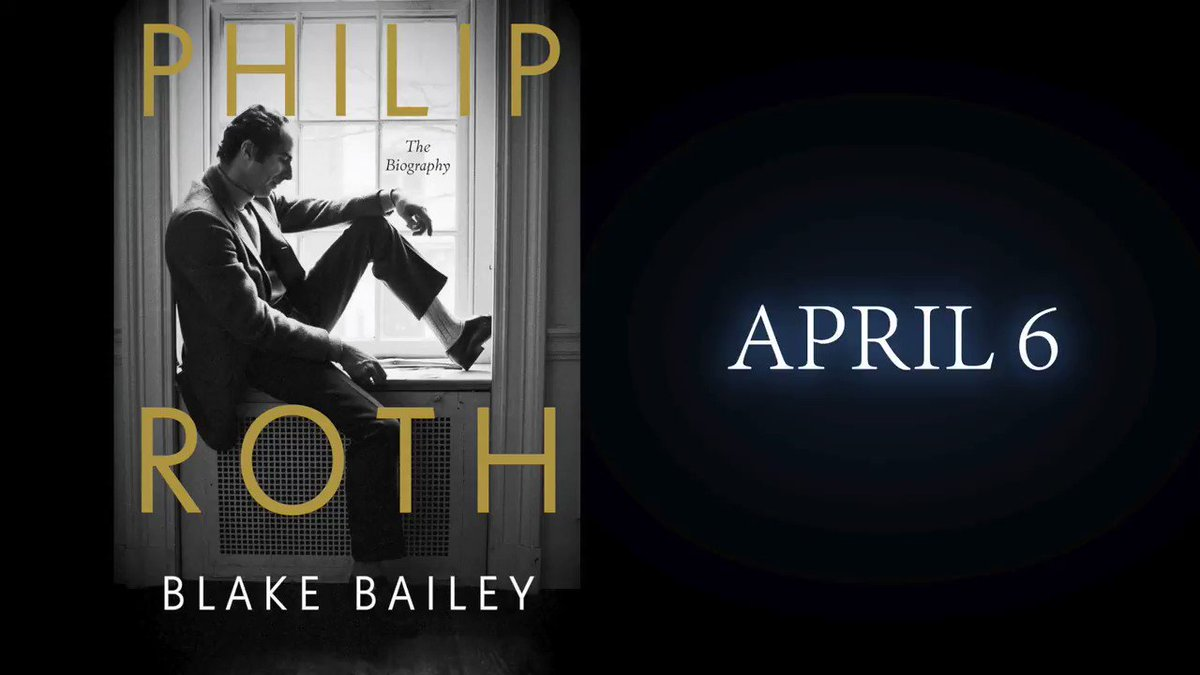 .@BlakeBaileyOn's brilliant and definitive biography of Philip Roth has received starred reviews from @PublishersWkly, @KirkusReviews and @ALA_Booklist. It reps a stunning achievement from our most distinguished literary biographer. Epic in scope. Intimate in detail. A wonder.
