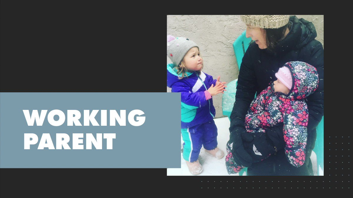 Image for the Tweet beginning: February's #WorkingParent series highlights vice