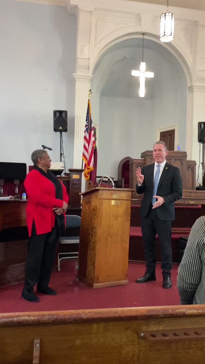 Inspiration still lingers in the air at the Dexter Avenue King Memorial Baptist Church in #Montgomery, the pulpit where #DrKing served as pastor. #BlackHistoryMonth #StrongerTogether.