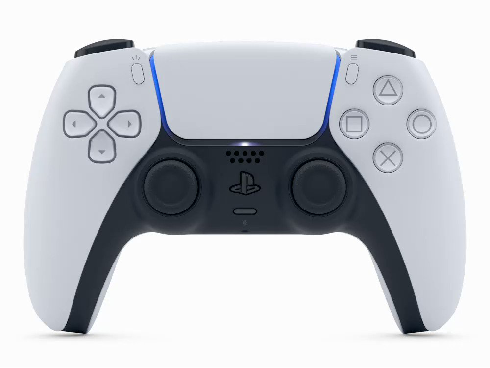 The DualSense wireless controller for the PS5 console offers immersive haptic feedback and adaptive triggers in supported games, as well as a built-in microphone!  You can learn more about the DualSense in our guide: