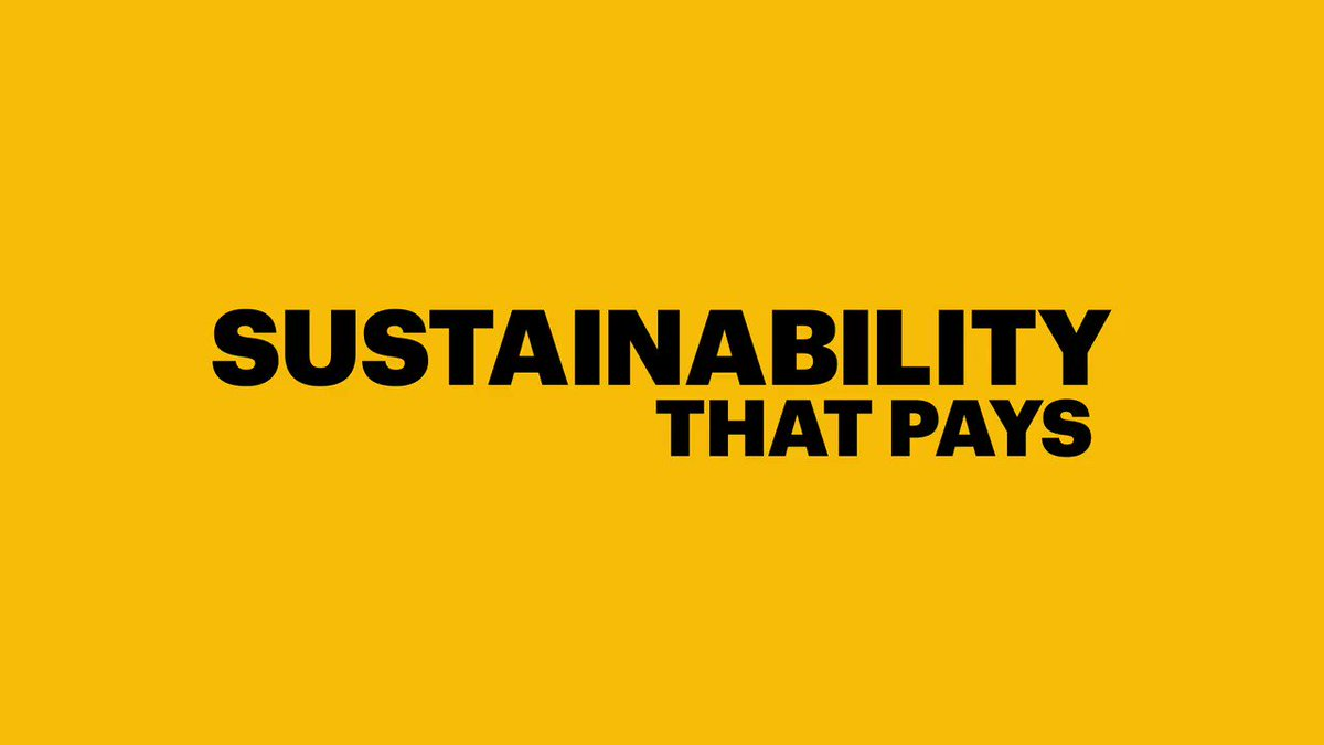Image for the Tweet beginning: Sustainability that pays: Our SONORA