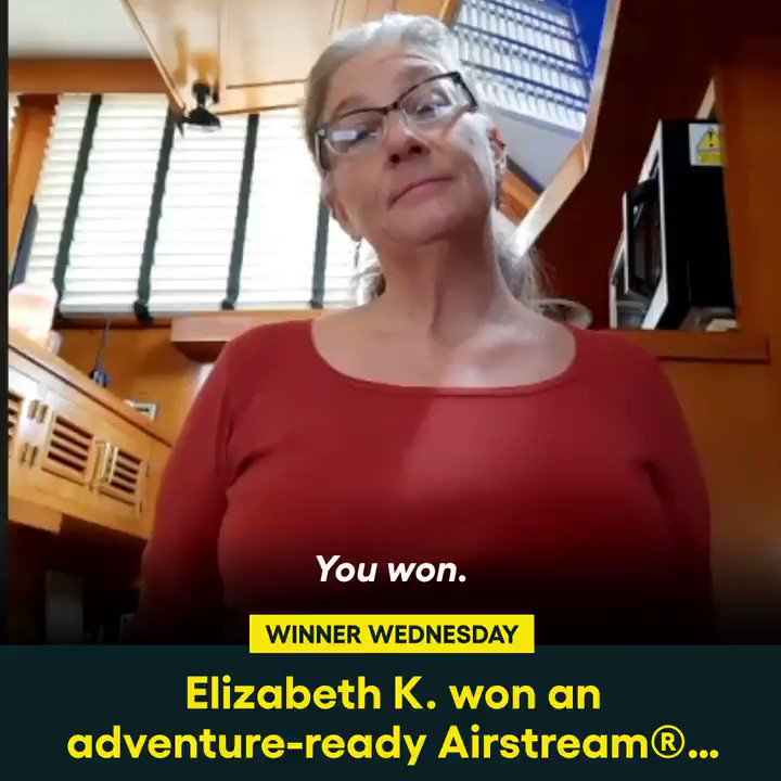 Elizabeth K. from Tuscon, AZ, will be ready for any adventure with her all-new Airstream Atlas and $20,000!  Check out more of this month's winners here:   #omaze #omazecars #omazewinners #winnerwednesday