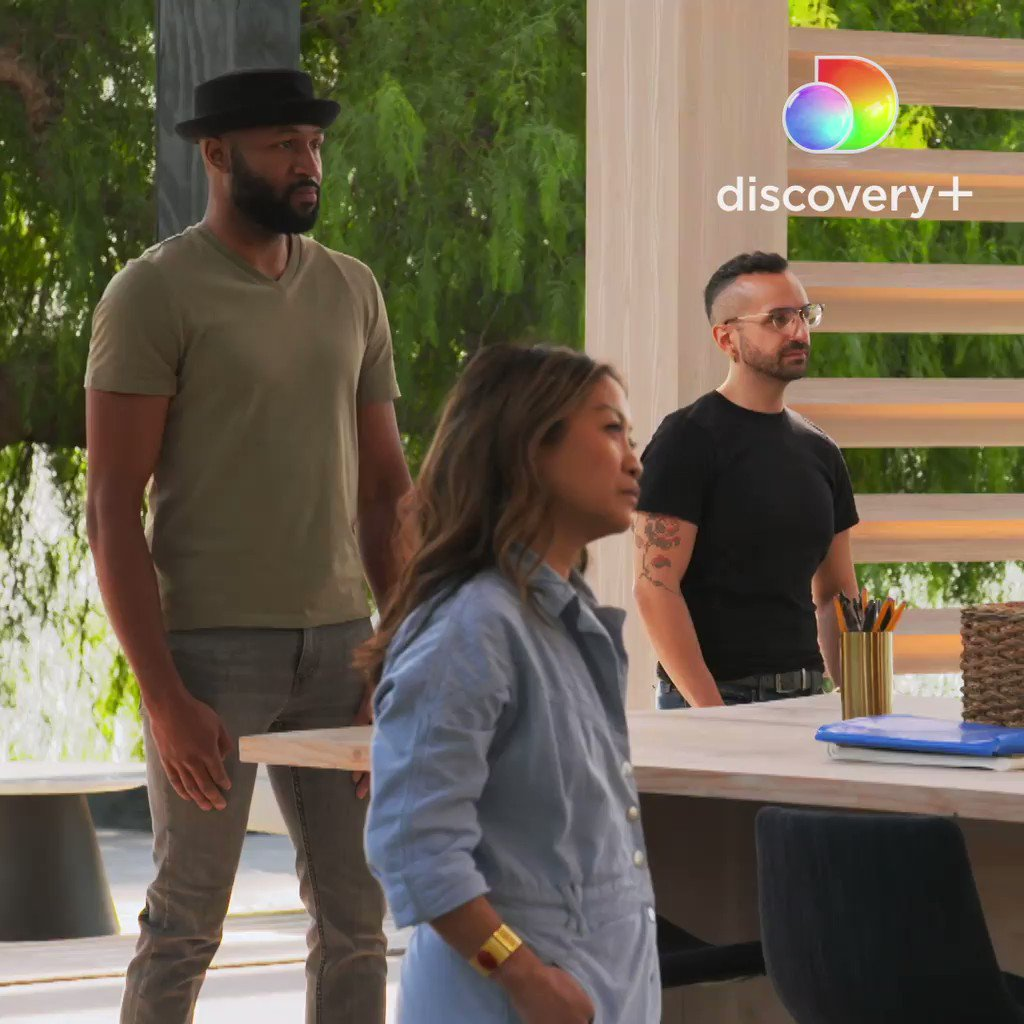Swagger and sauce. 👏  Stream #HGTVDesignStar now on @discoveryplus or tune in tonight at 9|8c. 🔎🤩 @Allisonholker @JonathanAdler @laurenmakk