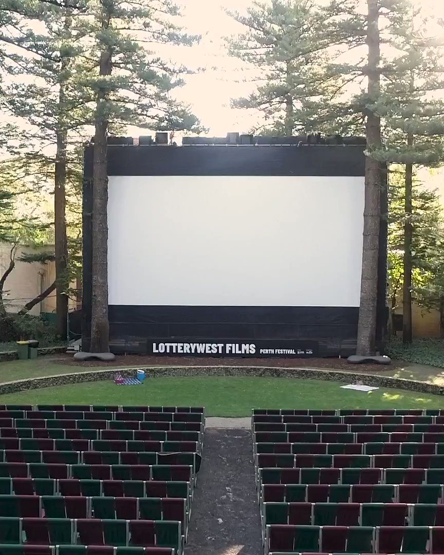 Get to know a bit more about Perth's best outdoor cinema and the home of @perthfest's Lotterywest Films 🎬🌲✨ #UWASomerville #perthfest