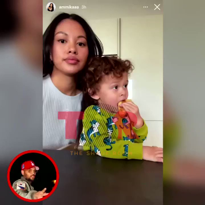 Chris Brown's son Aeko is getting so big 😍