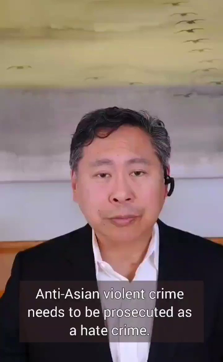 Anti-Asian violence needs to get prosecuted for what it is: a hate crime. #StopAsianHate @StopAAPIHate @AAAJ_AAJC