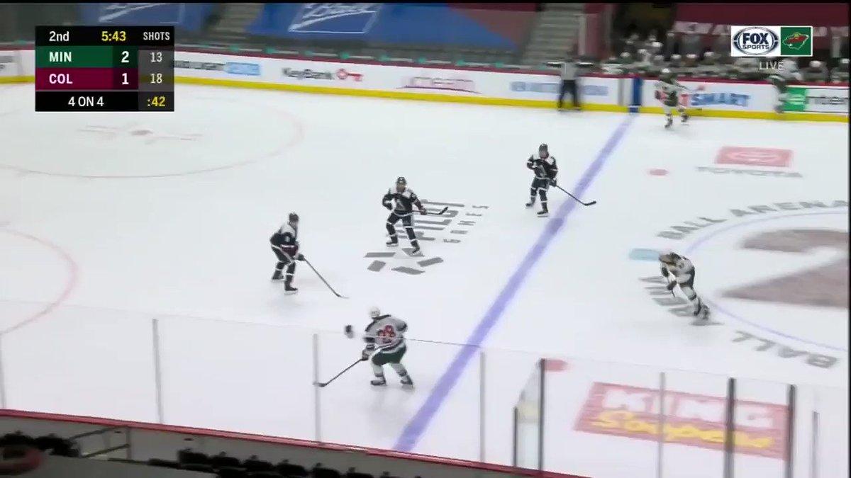 Absolutely fantastic skating sequence from Kaprizov