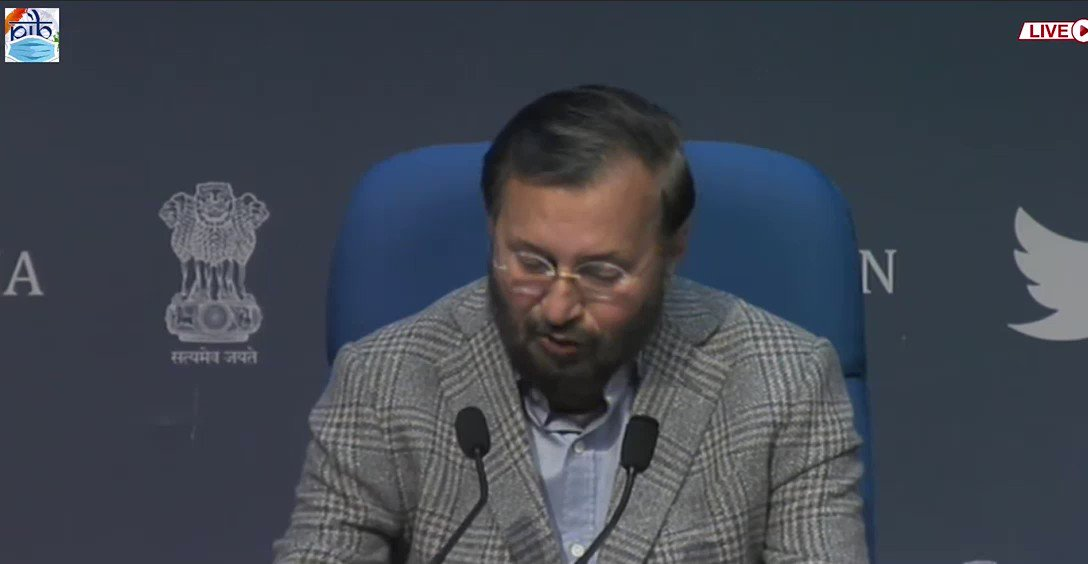 We have decided to have 3 tier mechanism for OTT platforms;   ▪️OTT and Digital news media have to disclosed their details    ▪️Grievance redressal system for Digital and OTT platforms  ▪️Self regulatory body headed by retired SC or HC judge  Union Minister @PrakashJavdekar