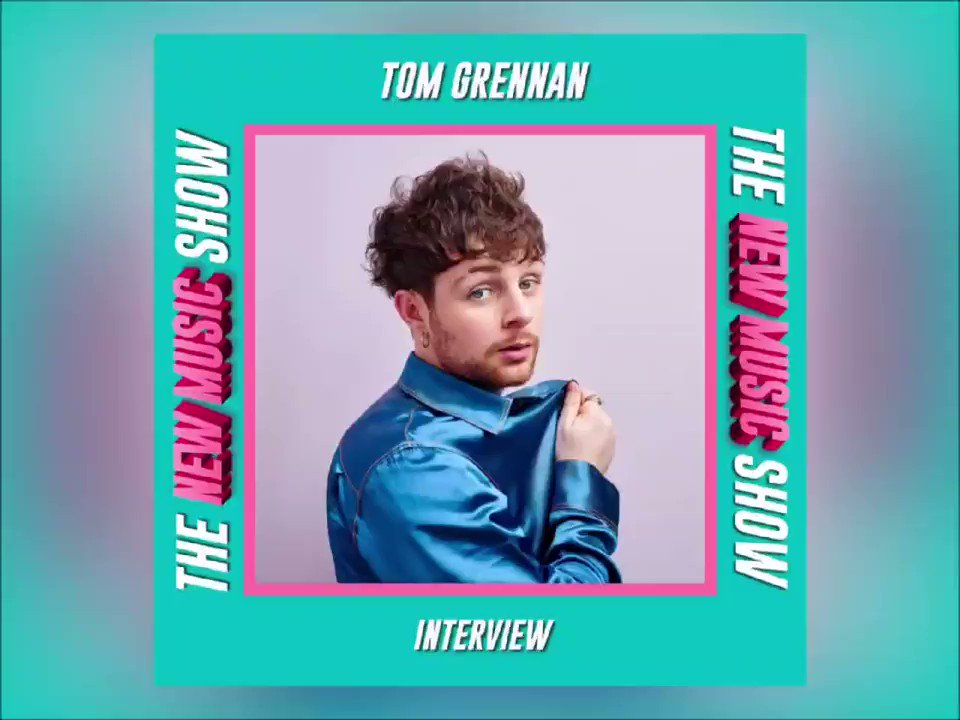 🚨 ANNOUNCEMENT 🚨   We are excited to announce that @Tom_Grennan will be joining Olly & James for a chat on Tuesday's New Music Show!   The lads will be chatting to Tom about how he has been coping during lockdown aswell as the release of his new album 'Evering Road'! 🤩