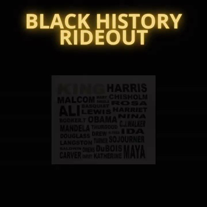In Honor of those who paved the way equality! Black History Rideout!!! Drop a name of a person that has most influenced you! #blackhistorymonth #blacklivesmatter #martinlutherking #kamalaharris #obama #michelleobama