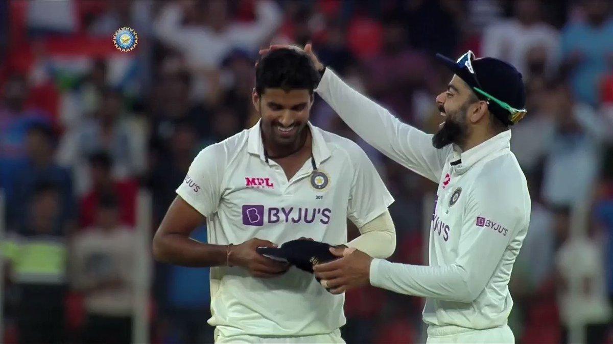 MOOD 😁😎  @Paytm #INDvENG #TeamIndia #PinkBallTest  Follow the match 👉