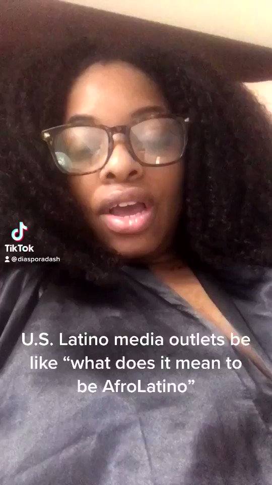 """Y'all asking the wrong damn questions. These ridiculous """"what does it mean to be AfroLatino"""" headlines should have been left in 2005. https://t.co/aOi5rW8ec9"""