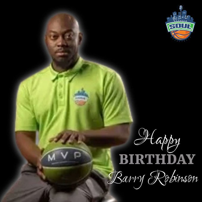Sending a special Happy Birthday to Barry Robinson! Enjoy your day!