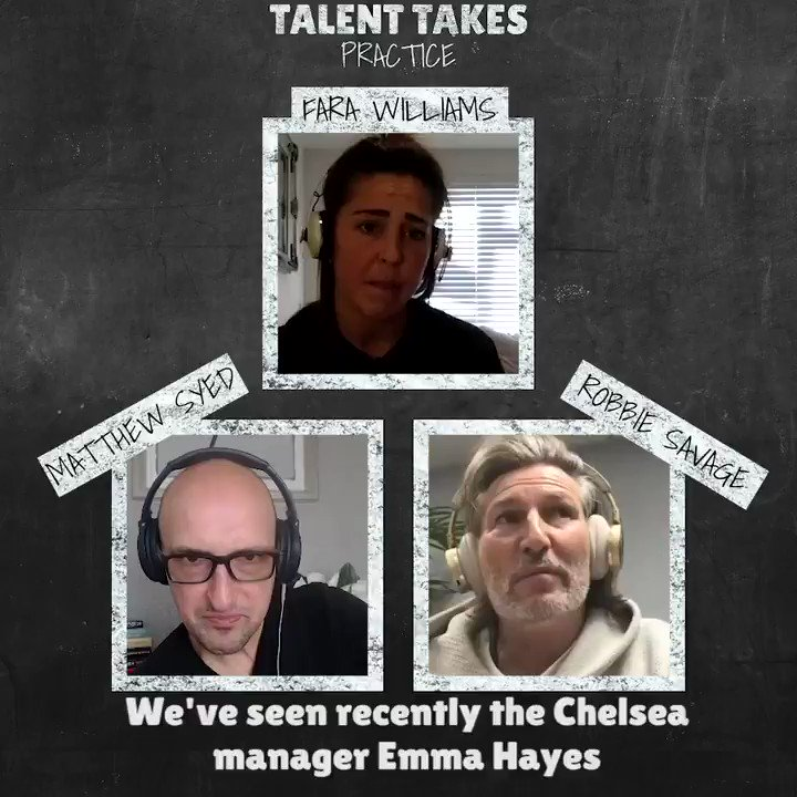 """🎧 Episode 10 is now LIVE 🎙 #TalentTakesPractice   """"She's somebody that really wants to drive our game forward and open up doorways & pathways for other women & girls coming through""""  @fara_williams47 on the impact that @emmahayes1 has had!"""