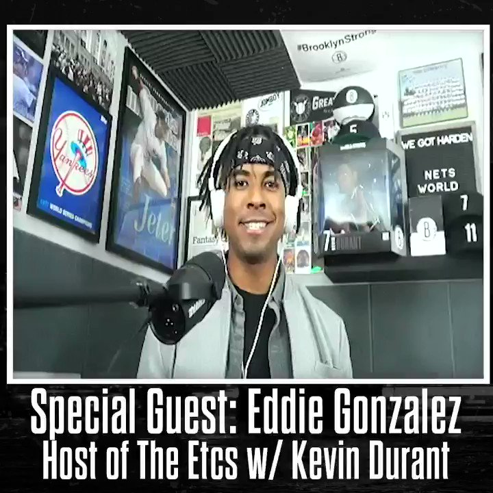 New pod 🚨 Get to know @bansky, host of #TheEtcs podcast with @KDTrey5, on today's new episode!  Listen:   Watch:
