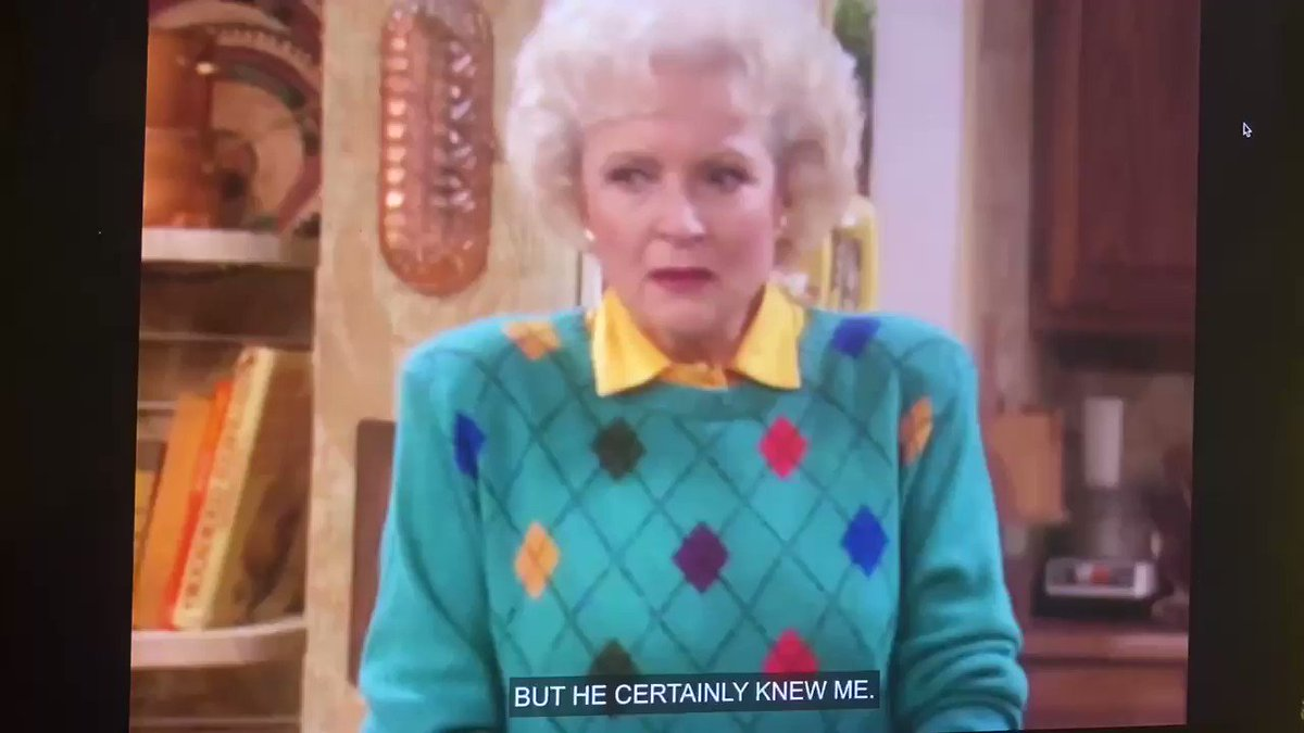 Call Me By My Name (S07E14) #stolafstories #goldengirls #bettywhite
