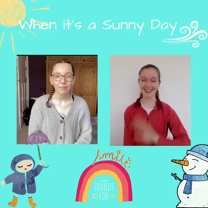 Whatever the weather with you, hope you've had a lovely day!☔☀️🍃  #thatsoundsfun #sunnyday #keepsmiling #singalong #Weather #sunshine #rainbows #Stayhappy #PositiveVibes #umbrella