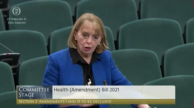 So, why did Government vote against Mandatory Hotel Quarantine today ? What pressures are they coming under - is it from the many industries depending on the business model of people coming into the country, on low pay with poor conditions? @RoisinShortall #TonightVMTV #Dail