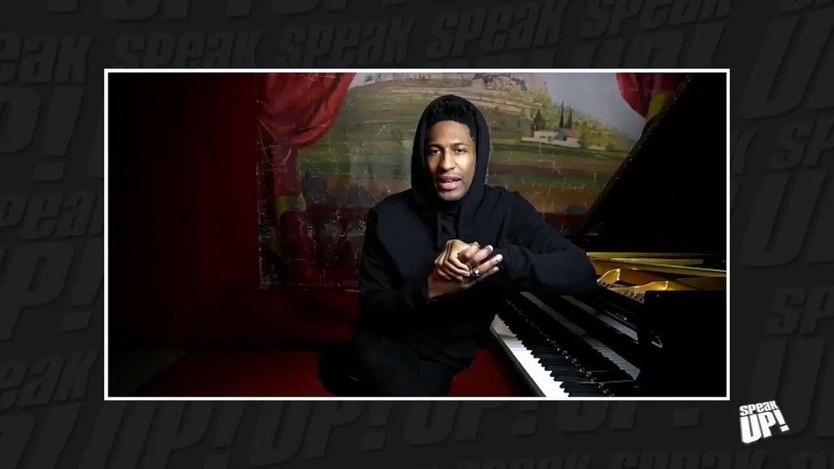 ".@JonBatiste speaks on ""Love Riots"" and empowering Black narratives through his music.  Watch the full 'Speak Up' episode on TIDAL:"