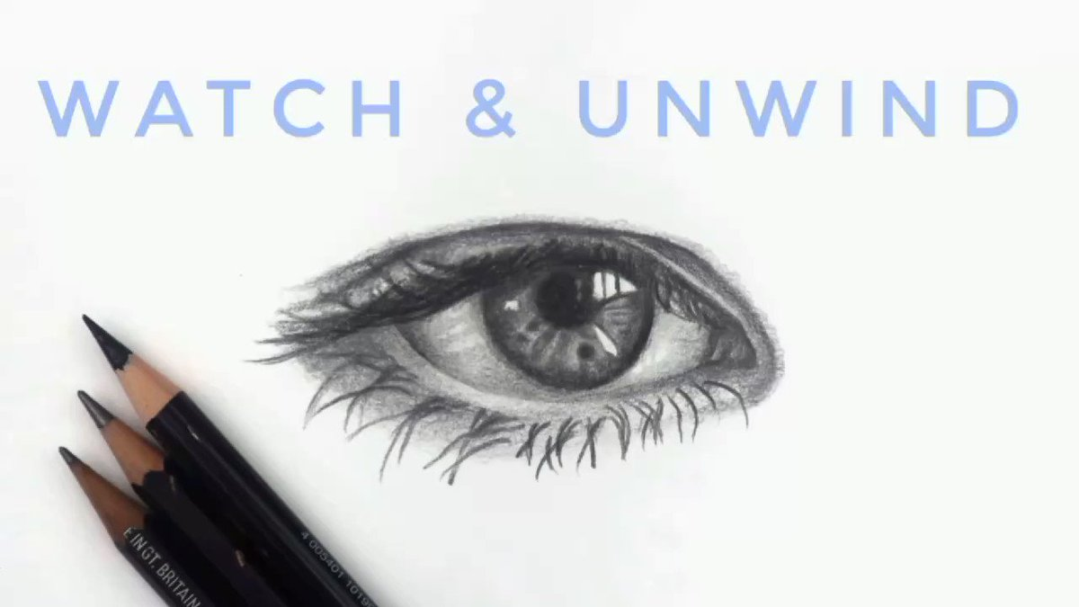One of the comments I get the most about my drawing videos is that people find them relaxing to watch. I think this is because I draw from a relaxing mind set.  So I made some longer videos which qre on my YouTube.👇👇👇   ✏️🎥🙏💕  #drawing #eyedrawing