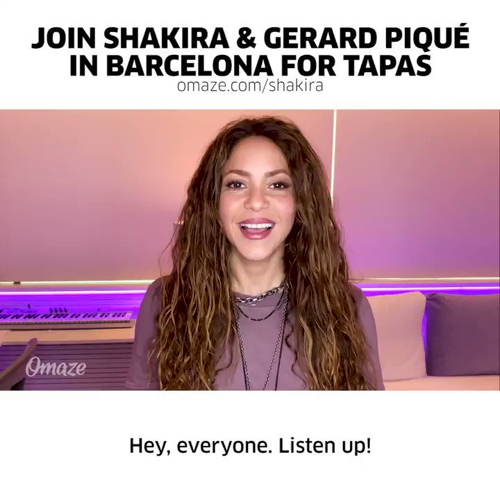 Will you be the lucky winner to join us in Barcelona? Support Shakira's amazing foundation and enter now:
