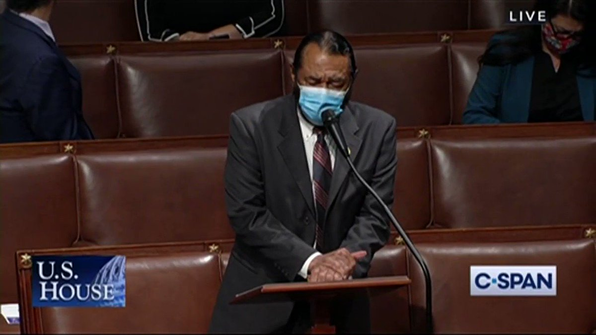 """WOW: Rep. Al Green (D-TX)amazing response to GOP Rep  Greg Steube who said God opposes transgender rights: """"You used God to enslave my foreparents. You used God to segregate me in schools. You used God to put me in the back of he bus. Have you no shame?"""""""