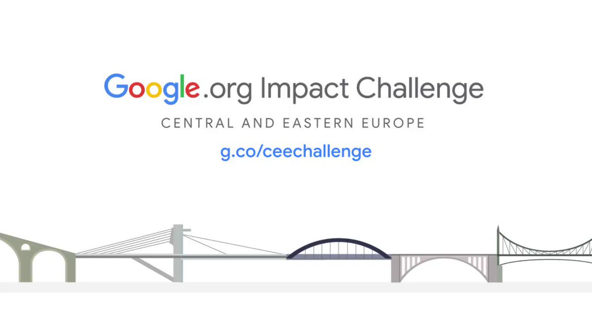 The #GoogleorgImpactChallenge CEE is an open call for ideas to help build an inclusive digital future. For those with an innovative solution to help individuals and communities gain new skills for the future, applications are due by 3/1. To apply: