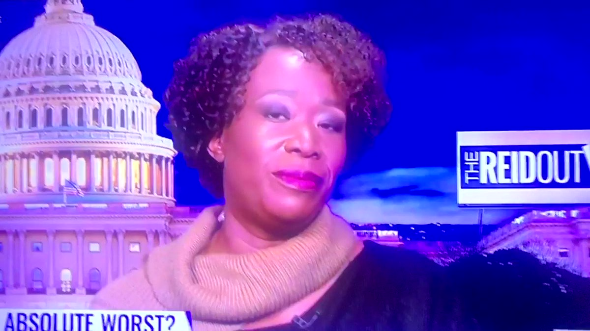 @JoyAnnReid #MajorieTaylorGreen still holds #TheReidOut on being the absolute worst. She believes in science when it comes to healthcare but when trying to tell people what to do she believes in scientific facts #EqualityAct