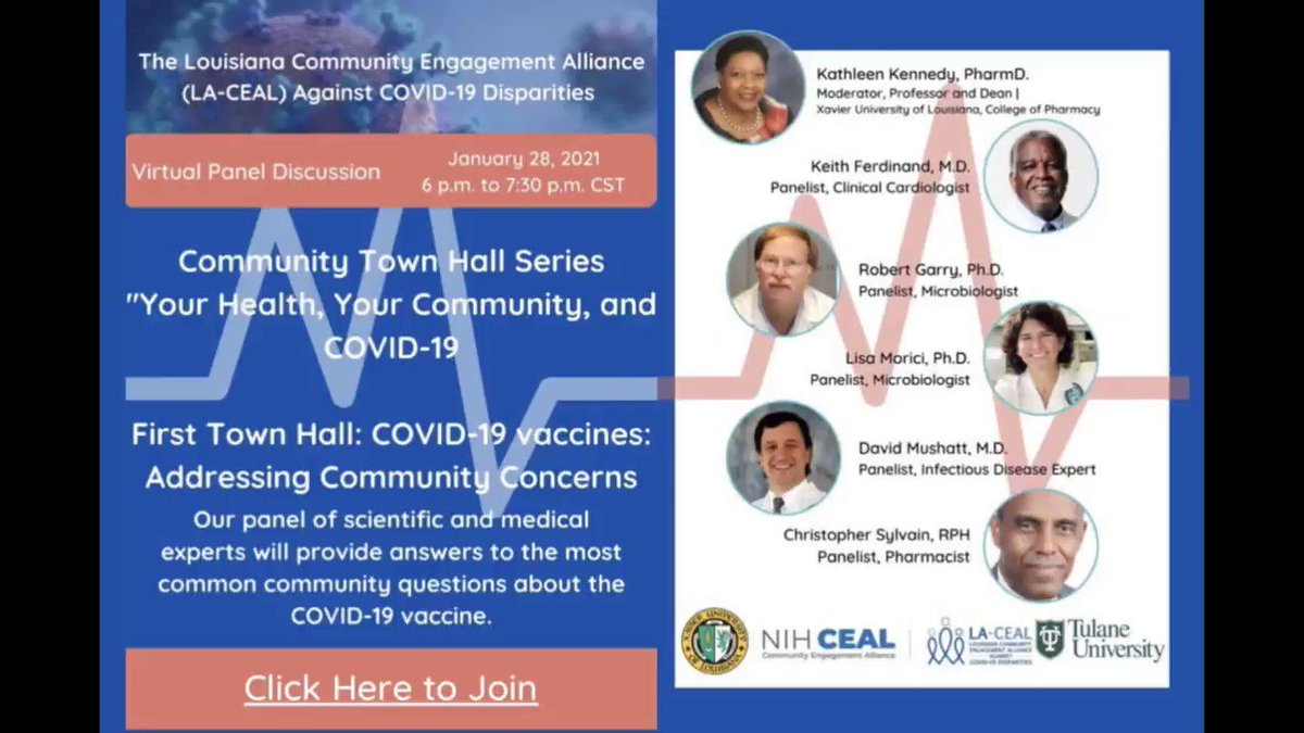 ADDRESSING COVID-19 VACCINE CONCERNS: LA-CEAL Experts Present the Science  #haltcovidla #COVIDVaccine #COVID19  Concern: The COVID-19 vaccine contains microchips to control us. Expert Answer: https://t.co/GSpJVmacqg