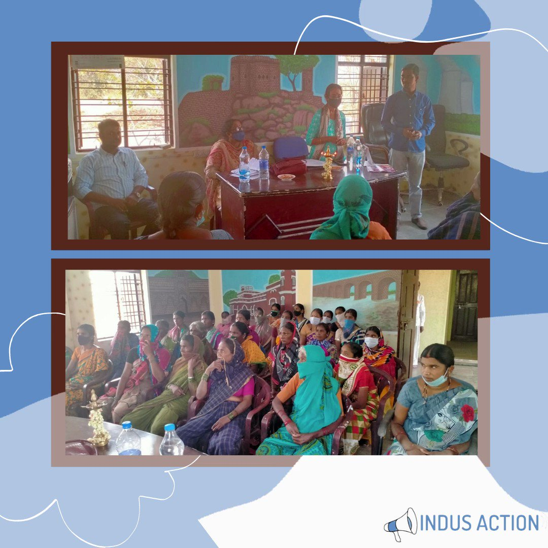 Image for the Tweet beginning: Team Indus Action facilitated a