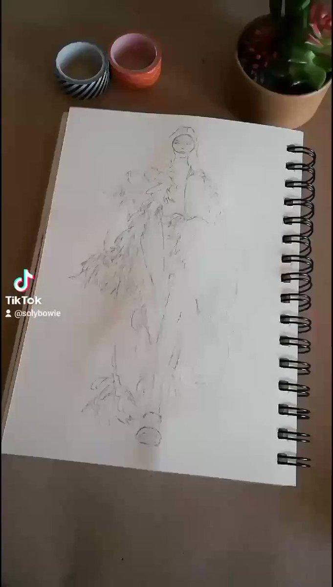 #mfw #milanofashionweek #fashionillustration #illustration #tiktok #sketch #doodle #drawing #delcore #aw21 #fw21 #fallwinter2021 #fashionsketch