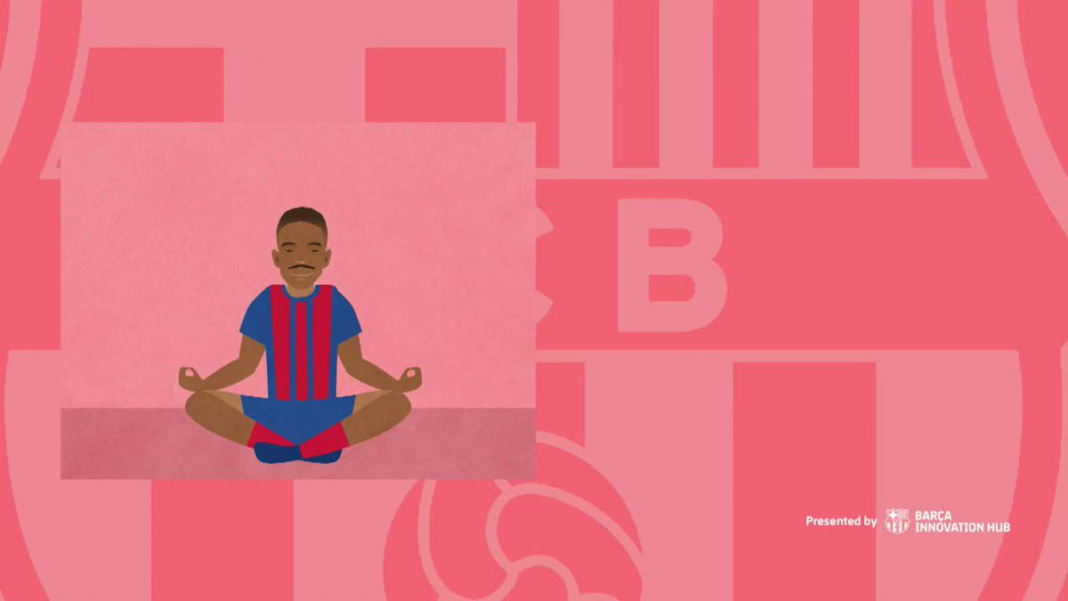 Try to incorporate relaxation exercises, such as mindfulness, into your routine. 🧘 You will focus better during the day and sleep better at night. @FCBarcelona #BarçaPlayerTricks Read more at
