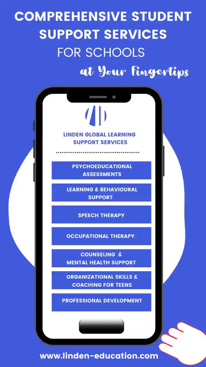 Children everywhere should have the ability to thrive. Our goal is to make that happen!  The Linden team is composed of diverse, highly skilled professionals trained in social, emotional, and academic well being. #studentsupport #mentalhealth #teleassessment  #internationalschool
