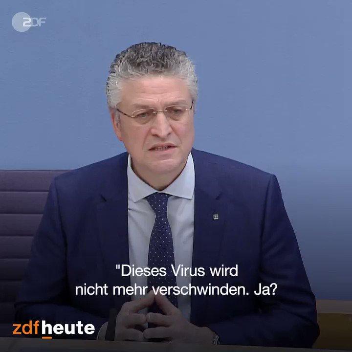 slide 9 - Klare Worte von Lothar #Wieler, dem Präsidenten des Robert-Koch-Instituts (#RKI): Er sieht nach der positiven #Corona-Entwicklung zwar