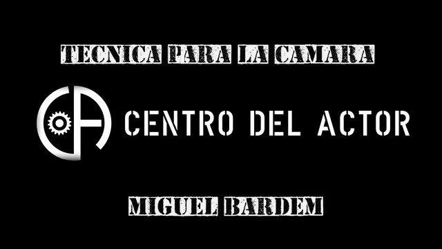 Image for the Tweet beginning: Técnica para la Cámara, con