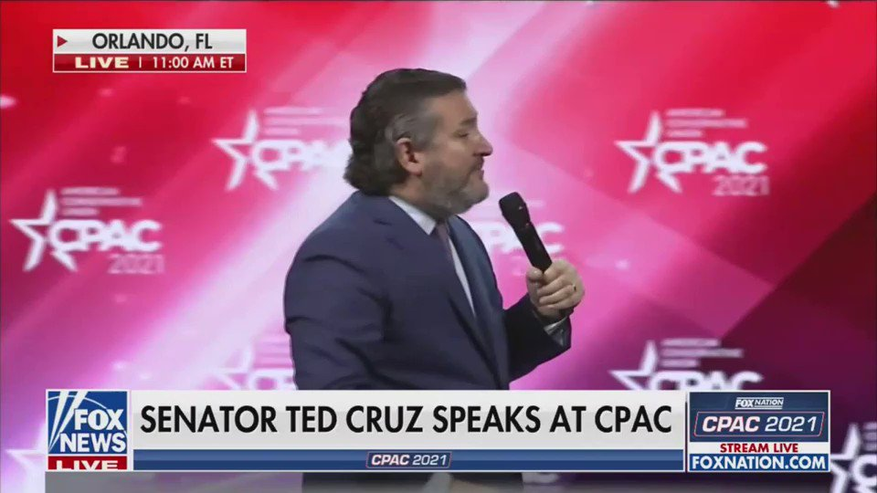 """""""This is just dumb"""" -- Ted Cruz on mask wearing during a pandemic"""