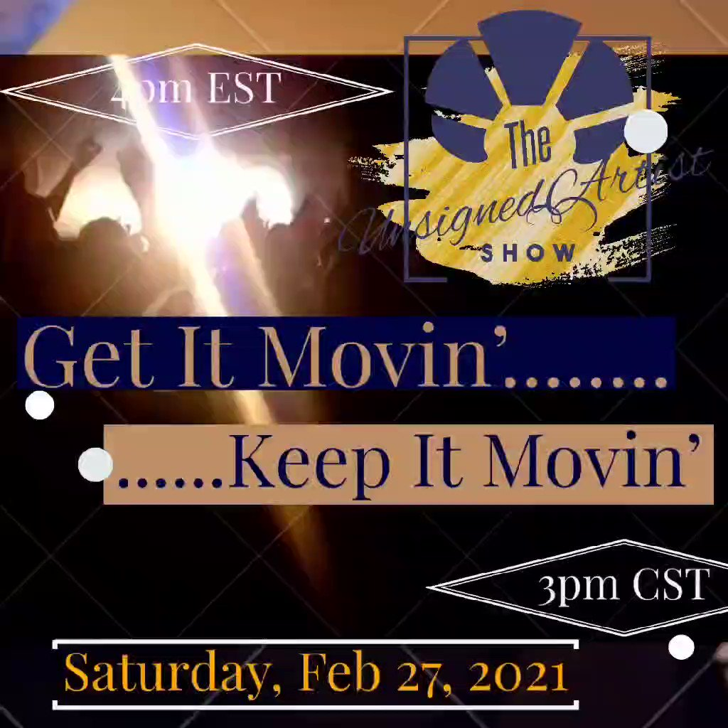 TheUnsignedArtistShow is gonna be🔥🔥. Tune in WKCB-FM at  at 4pm EST Sat Feb 27th. Dancing shoes and energy drinks required. 🤸♂️🤸♀️🤸#music #Dance #SaturdayMotivation #independentartists #SpreadTheWord