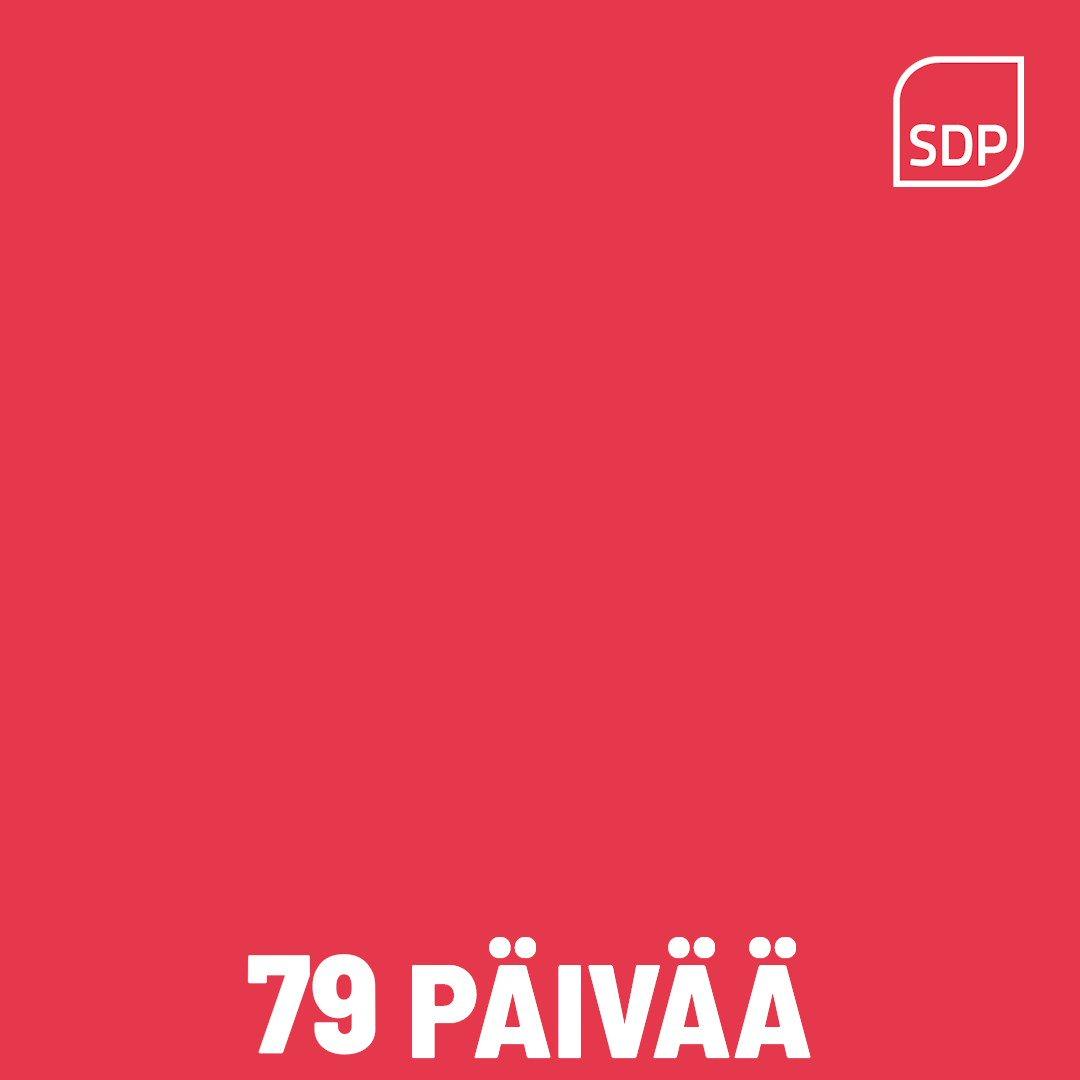 Image for the Tweet beginning: Tasan 50 päivää kuntavaaleihin❣️ Nyt on