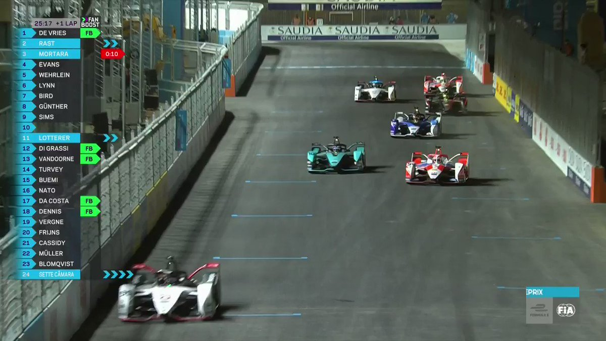 OH NO! Former teammates @sambirdofficial and  @alexlynnracing collide in Diriyah 😦   Find out how you can watch live here >>  #DiriyahEPrix