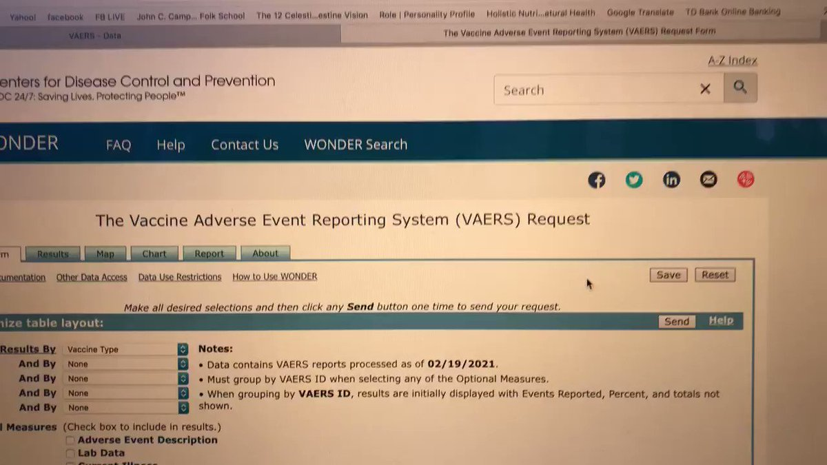 So far 1106 people have died from the Covid vaccine according to the CDC's vaccine adverse event reporting system called #VAERS