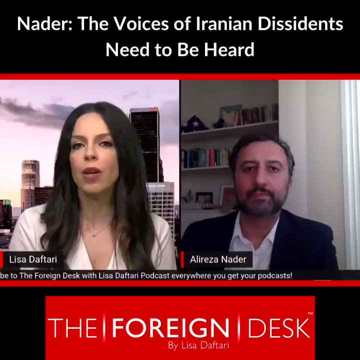 How do we shift the narrative in Washington D.C. to appeal to Iran's people instead of Iran's regime?  On my podcast, @AlirezaNader from @FDD says it starts by giving the people of #Iran a platform to share their voices.   To subscribe to my podcast: