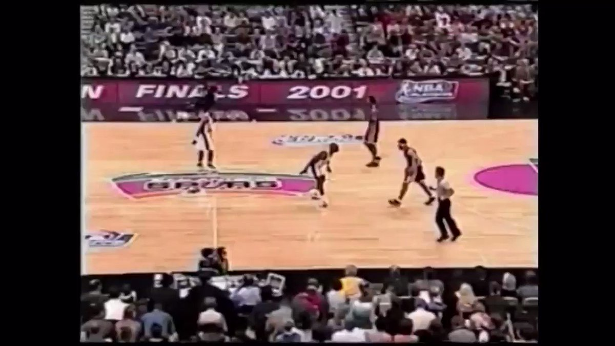 Throwback to when Kobe Bryant dunked on Tim Duncan two times in one Game