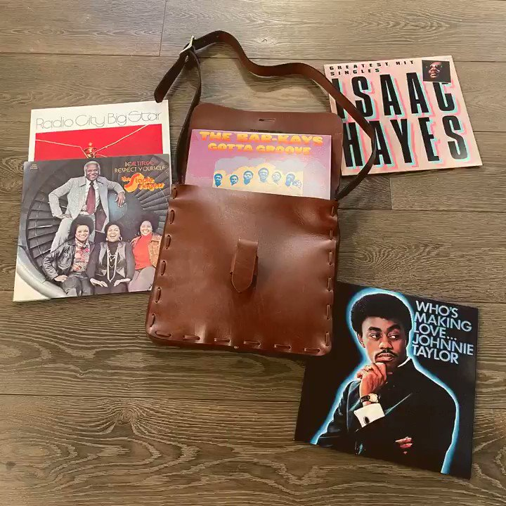 We're giving one lucky Stax or @CraftRecordings follower a rare (1 of 50), handcrafted leather replica of the bespoke DJ bag created for Stax Records employees in 1970, a $300 value. You'll also get an LP of your choice from the Stax store! Enter to win: https://t.co/sRjcHALx2c https://t.co/VPt5NSR6mI