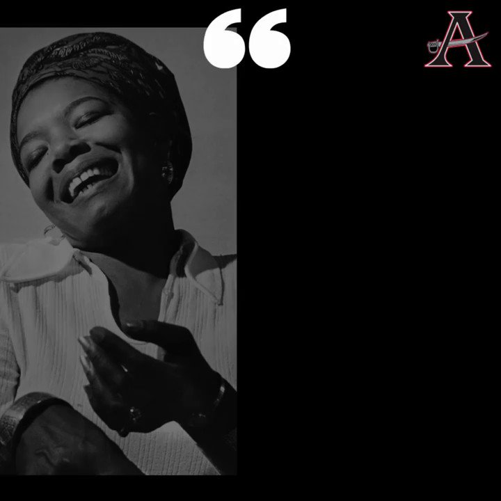In honor of #BlackHistoryMonth, this Friday for Special Education, meet Ms. Maya Angelou, who overcame trauma in her childhood that led to 5 years of selective mutism to go on and have a brilliant career as a writer, poet, singer, and civil rights activist. #GoBucs @cobbschools