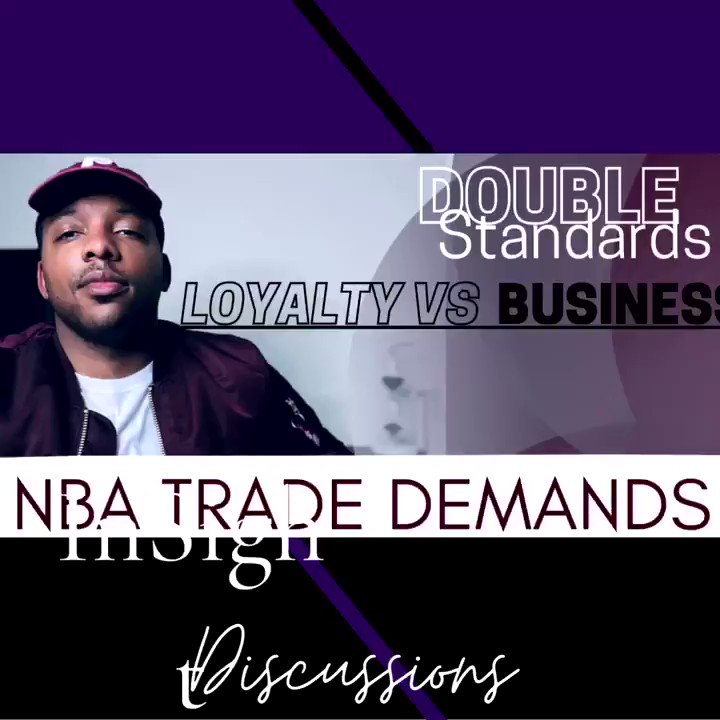 Is Loyalty Overrated ? Is it all business ? We talked about how the #nba & players have handled #nbatrades in the past  Check out the full video on YouTube!  #insightdiscussions  We're gonna be going over our #nbaplayoffs predictions soon as well ! Stay tuned https://t.co/v7VpasT82v