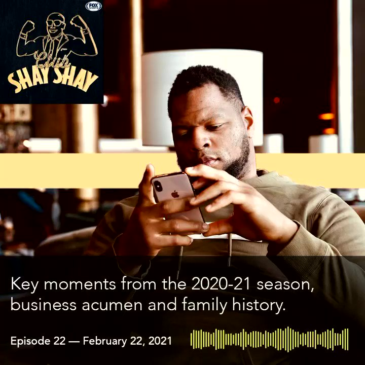 @ShannonSharpe and I cover everything from football to finances to family on this episode of @ClubShayShay  Tune in at the link below‼️
