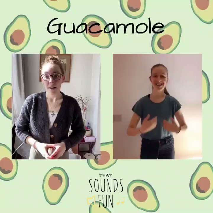 A slightly crazy one to finish the week🤪 Hope you like guacamole as much as we do!🥑   #thatsoundsfun #guacamole #FridayVibes #crazy #cooking #mashtheavocado #avocado #singtogether #singalong #HappyWeekend