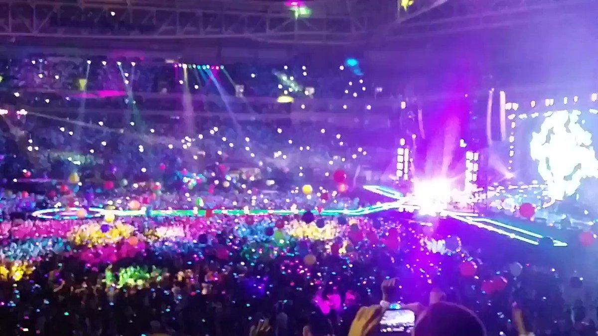 Dessas aglomerações sinto falta, viu? Show do Coldplay INESQUECÍVEL #Coldplay