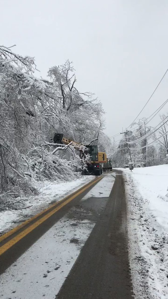 Image posted in Tweet made by WVDOT on February 26, 2021, 10:35 pm UTC