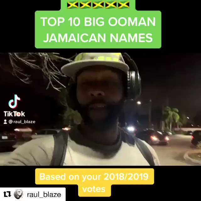Comment 1 Big Ooman Name below 😂 🇯🇲 @raul_blaze  Tag the owner & follow us @dittyislanddelights & @yaniquerhule for more belly laughs . . #comedy #funny #hilarious #laugh #lol #lmao #haha #funnyvideos #fun #viralvideos #comedian #jokes #memes #tiktok #raulblaze #jamaica